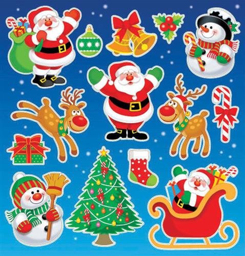 Christmas Stickers Partybag Ie