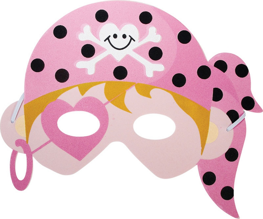 Pink Pirate Masks Partybag Ie